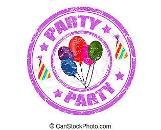 Party stamp