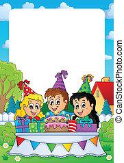 Party theme frame 2