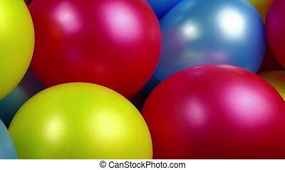 party, verabschiedung, luftballone