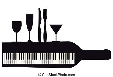 Party with piano
