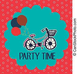 party, Zeit