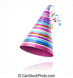 partyjny kapelusz