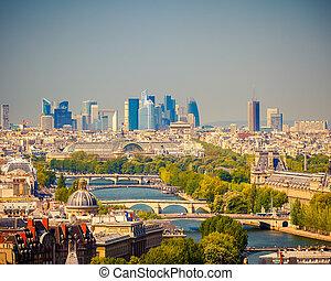 paryż, prospekt