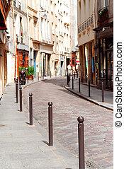 paryż, ulica