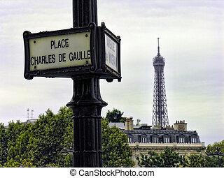 paryż, w, październik