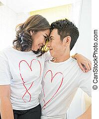 pary, miłość