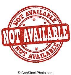 pas, disponible, signe, ou, timbre