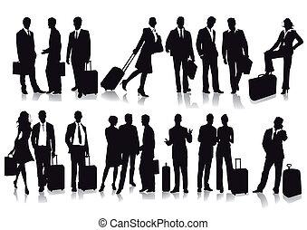 pasażerowie, podróżnicy