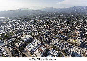 Pasadena California Aerial View