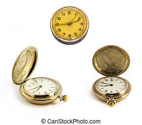 pasado de moda, reloj