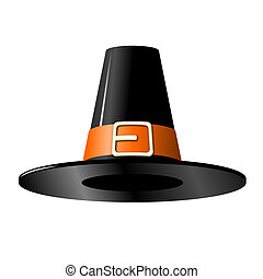 pasado de moda, sombrero negro