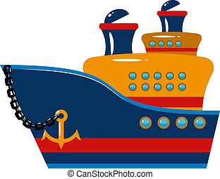 pasajero, vaya barco
