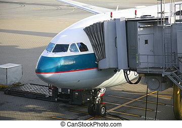 pasajeros, avión, descargar