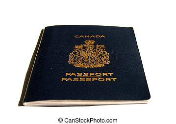 pasaporte, canadiense