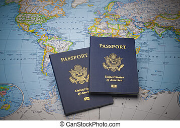 pasaportes, viajar de mundo