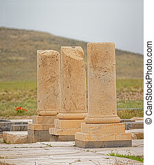 Pasargadae archaeological site - Archaeological site of the...