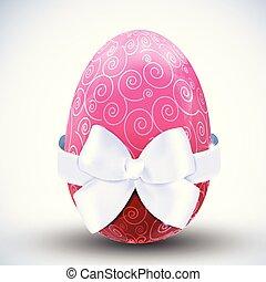 pascua feliz, huevo, icono