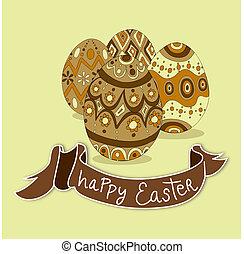 pascua feliz, huevos