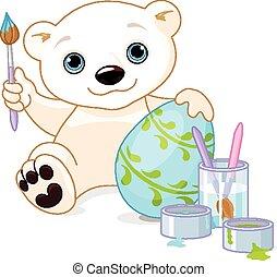 pascua, oso polar