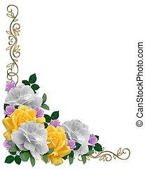 pasen, rozen, grens, kleuren