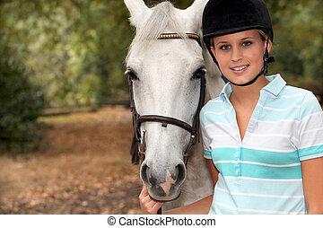 paseo de caballo