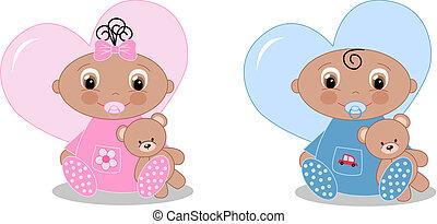 pasgeboren baby, aankondiging