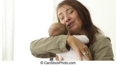 pasgeboren baby, calms, ?
