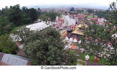 Pashupatinath drone footage, Nepal