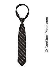pasiasty, czarnoskóry, krawat