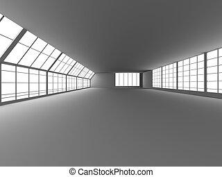 pasillo, arquitectura