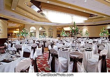 pasillo del banquete