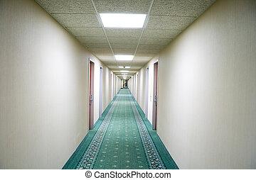 pasillo, hotel