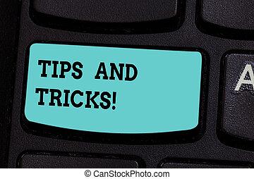 pasos, llave, texto, vida, tricks., recomendaciones, ...