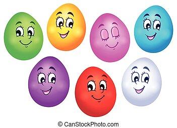 pasqua felice, uova, collezione, 1