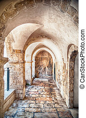 Passage in the OLd City of Jerusalem