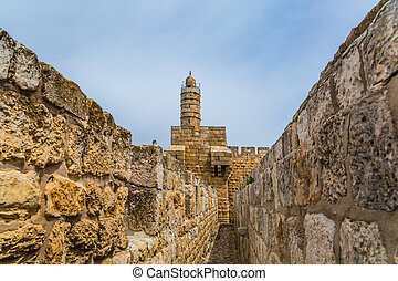 Passage in the wall of jerusalem