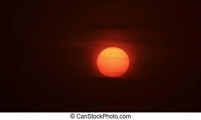 Passage of Venus across the Sun