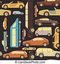 passageiro, fundo, car