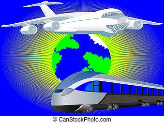 passageiro, transporte
