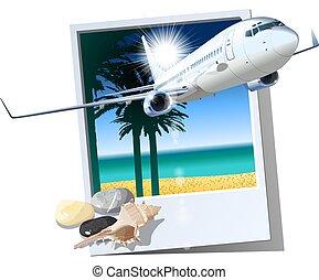 passageiros, comercial avião