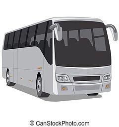 passager, autobus ville
