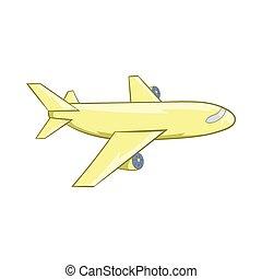 Avion dessin anim ic ne illustration vecteurs - Dessin avion stylise ...
