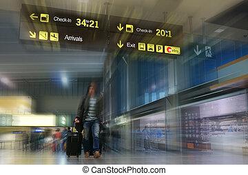 passager, ligne aérienne