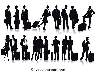 passagers, voyageurs