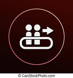 passagier, pictogram