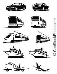 passagier, vervoer