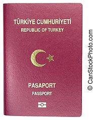 passaporte, turco