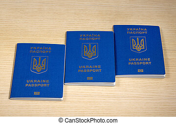 passaportes, tabela, biometric, ukrainian