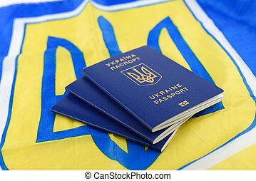 passaportes, ukrainian, biometric