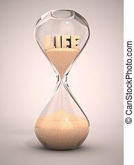 passare tempo, concetto, vita